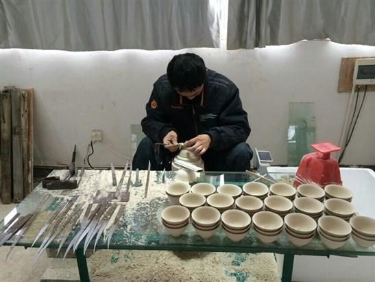昌南之窗-参观陶瓷制作过程