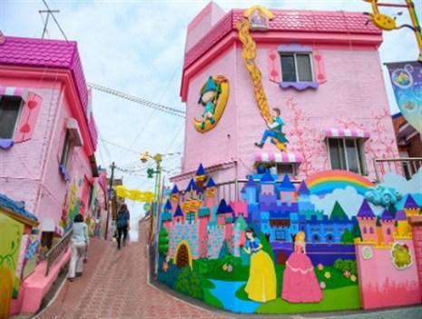 【来自星星的你】拍摄地:千都绝壁,松月洞童话街,汉江人工浮岛 汉江