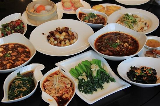盛美利亞酒店自助中式午餐