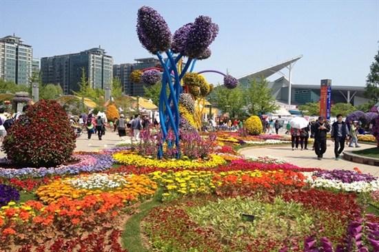 一山湖水公園~國際花卉博覽會
