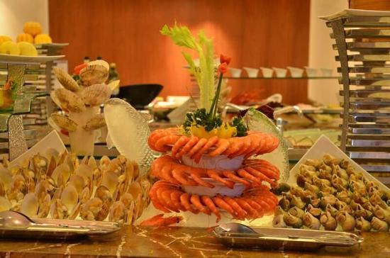 酒店海鮮自助午餐