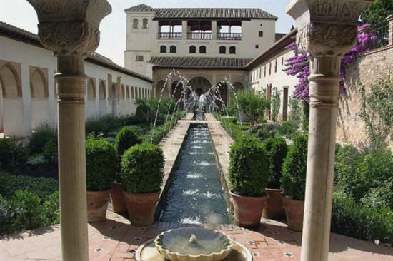 阿爾罕布拉宮御花園