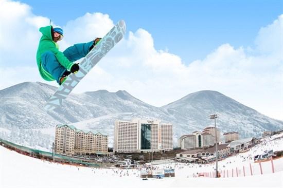 洪川大明滑雪場