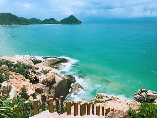 島上最美的地方~情人崖