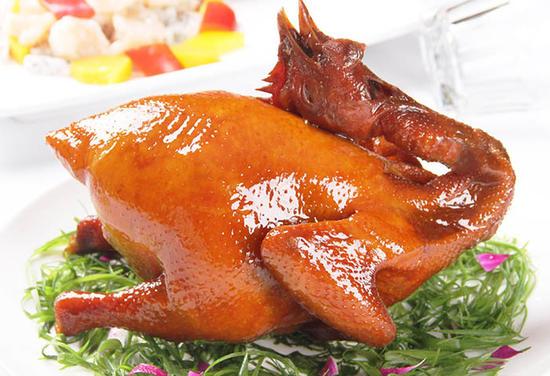 養生靈芝脆皮雙鳳宴