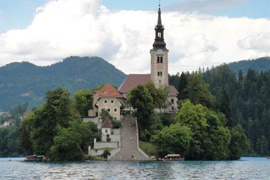 斯洛文尼亞 - 碧湖城堡