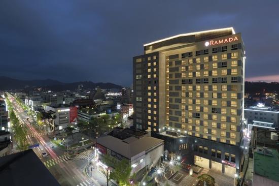 全州國際品牌Ramada Jeouju Hotel
