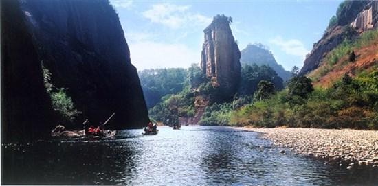 玉女峰一景