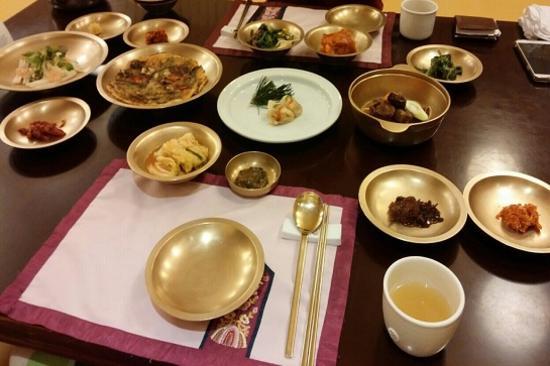 慶州宮中韓定食【瑤石宮】