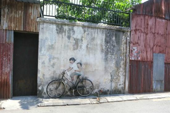 特色壁畫彩繪街