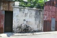 特色壁畫彩繪街(喬治市魔鏡)