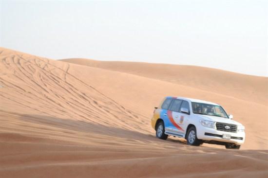 沙漠四驅車活動