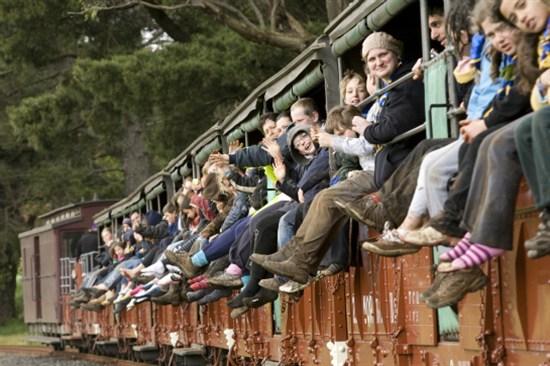 乘古董蒸氣火車