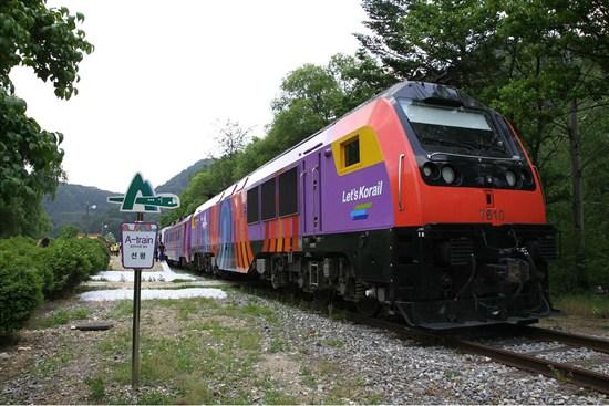 旌善阿里郎A-Train火車1