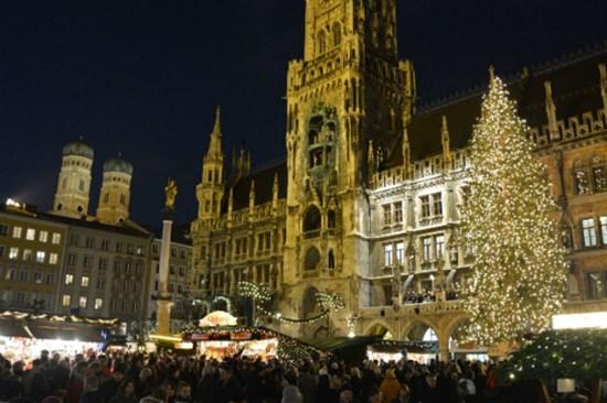 慕尼黑聖誕市集