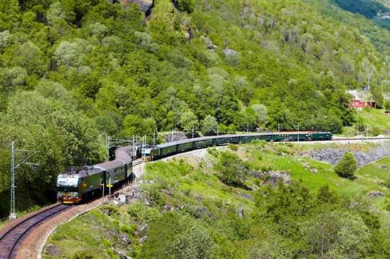 Flamsbana高山火車美景之旅