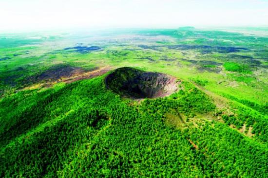 五大連池火山