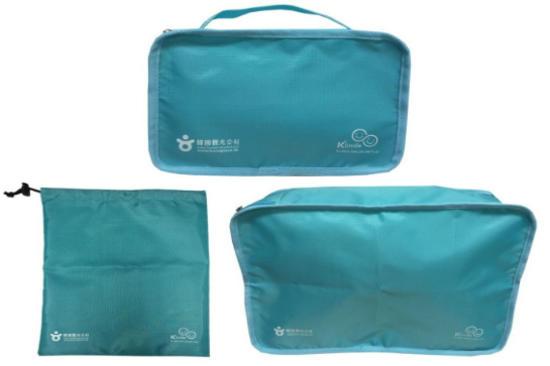 《窩心安排》 韓國3合1旅遊收納袋
