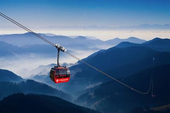 番西邦峰纜車