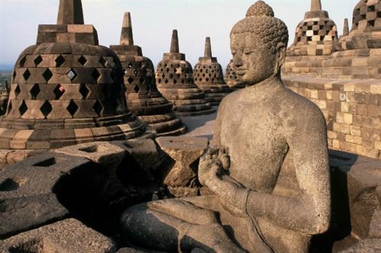 日惹「世界文化遺產」~婆羅浮屠佛塔