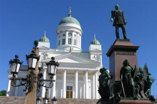 赫爾辛基議會廣場及大教堂