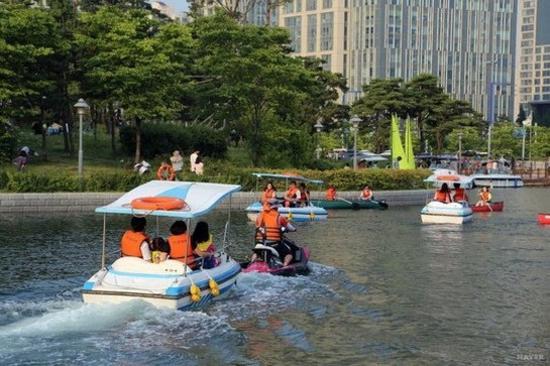 松島中央公園(小艇駕駛體驗)