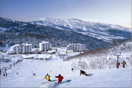 LG Konjiam 滑雪場