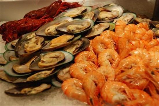 酒店海鮮自助餐