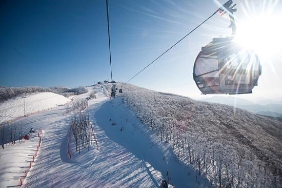 High1滑雪場纜車
