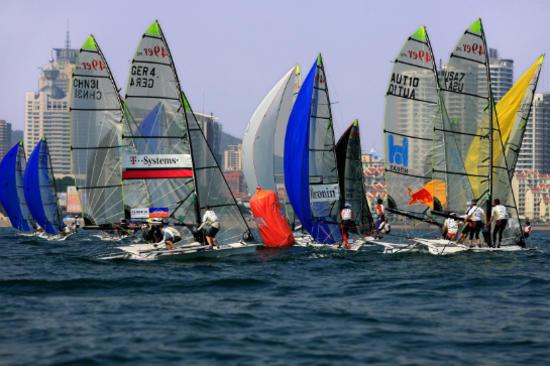 奥運帆船比賽海灣