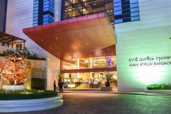 Avani Atrium Hotel exterior