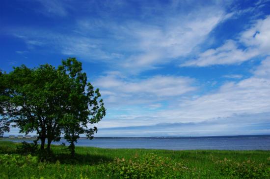 佐呂間湖展望台