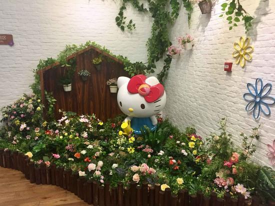 卡通人氣Hello Kitty Secret Path