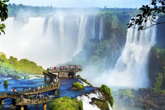 Brazil Iguassu Falls  巴西 伊瓜蘇瀑布