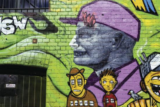塗鴉藝術巷道2