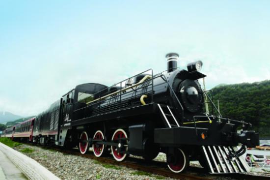 CHOO CHOO PARK train