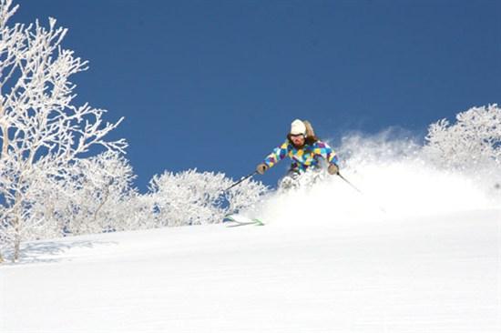 冬日滑雪樂