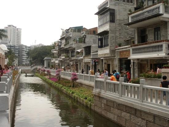 荔枝灣涌水鄉風情街