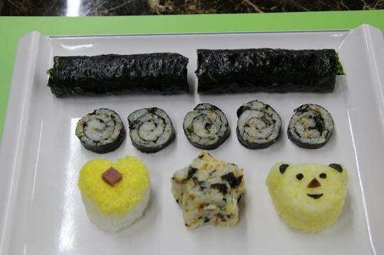 韓食DIY自製星星飯糰