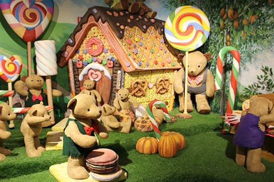 首爾teseum泰迪熊博物館