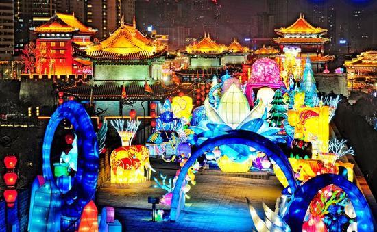 南門古城牆新年燈會