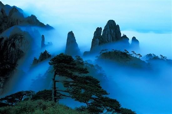 三清山仙境