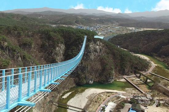 原州 小金山懸索吊橋