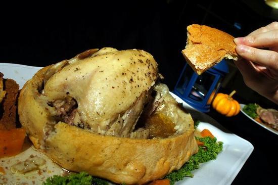 滋味功夫麵包雞宴