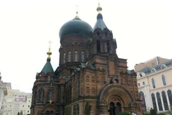 哈爾濱-聖索菲亞大教堂廣場