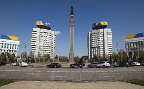 阿拉木圖 獨立廣場