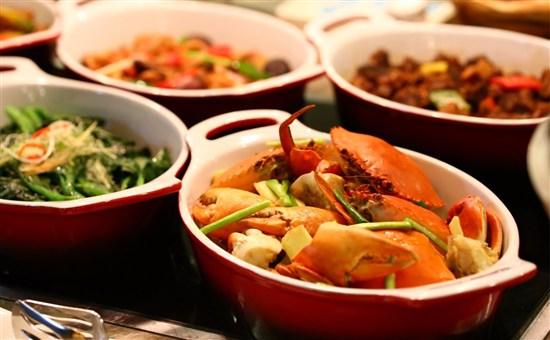 酒店東南亞海鮮自助晚餐