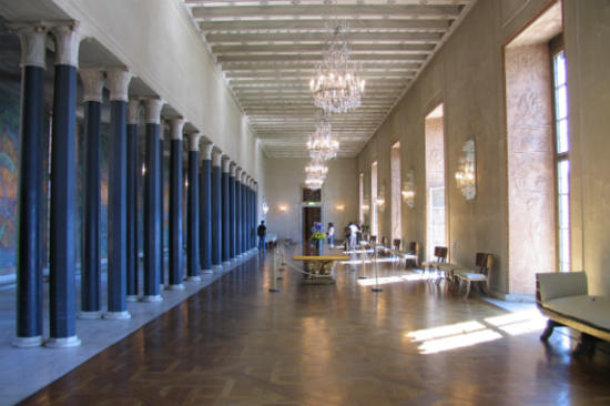 斯德哥爾摩市政廳藍色大廳