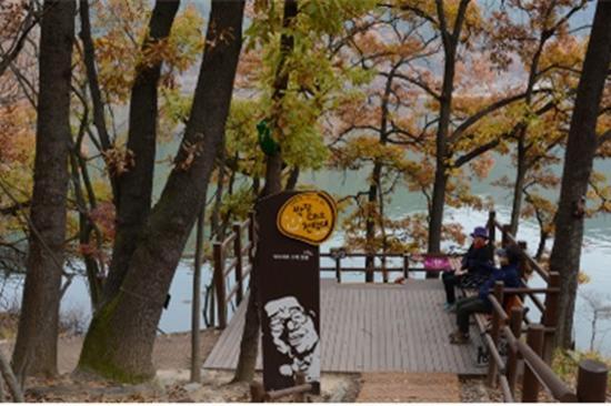玉淵池生態公園紅葉
