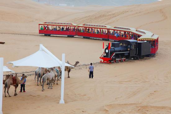 沙漠觀光火車